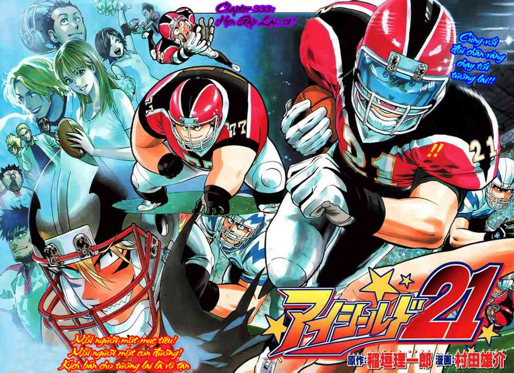 Eyeshield 21 Chap 333 . Next Chap 334